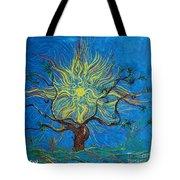 The Sun Tree Tote Bag