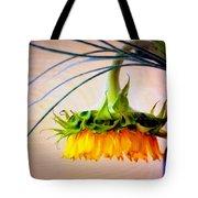 The Sunflower Speaks Tote Bag