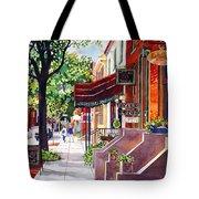 The Sunlit Shops Tote Bag