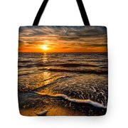 The Sunset Tote Bag by Adrian Evans