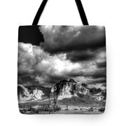 The Supes In Black And White  Tote Bag