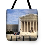 The Supreme Court Facade  Tote Bag