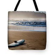 The Surf Is No Longer Up Tote Bag