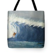 The Surfing Tote Bag