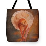 The Swan Warming Up Tote Bag