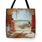 The Sweet Siesta Of A Summer Day Tote Bag