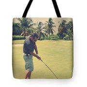 The Swing Of Things Tote Bag