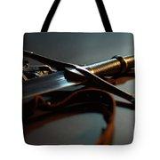 The Sword Of Aragorn 1 Tote Bag by Micah May