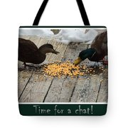 The Talk Tote Bag