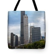 The Tall Buildings Tote Bag