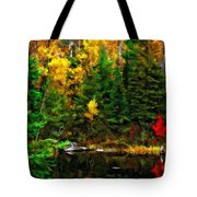 The Tarn Paint Version Tote Bag