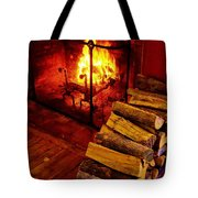 The Tavern Fire Tote Bag