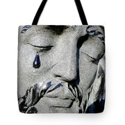 The Tear Of Jesus Tote Bag
