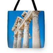 The Temple Of Apollo Tote Bag