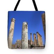 The Temple Of Artemis At Jerash Jordan Tote Bag