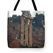 The Temple Of Castor And Pollux Tote Bag