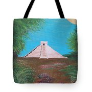 The Temple Of Kukulcan Tote Bag