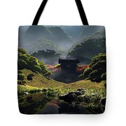The Temple Of Perpetual Autumn Tote Bag