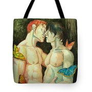 The Tenderest Touch Tote Bag