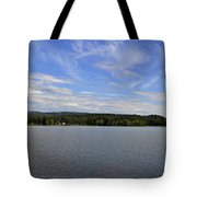 The Tennessee River In Alabama Tote Bag