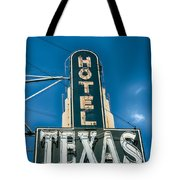 The Texas Hotel Tote Bag