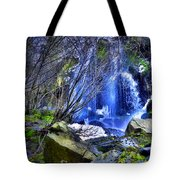 The Thawing Falls Tote Bag