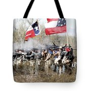 The Thin Gray Line Tote Bag