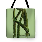 The Thinker   Number 10 Tote Bag
