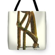 The Thinker  Number 11 Tote Bag