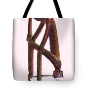 The Thinker   Number 17 Tote Bag