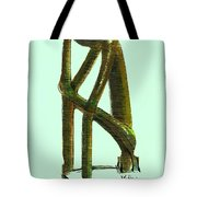 The Thinker  Number 2 Tote Bag