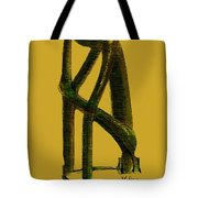The Thinker   Number 4 Tote Bag