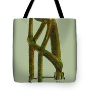 The Thinker  Number 6 Tote Bag