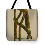 The Thinker   Number 7 Tote Bag