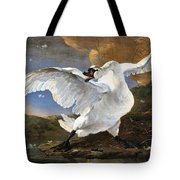 The Threatened Swan Tote Bag