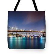 The Three Bridges Tote Bag