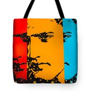 The Three Faces Of Elvis Tote Bag
