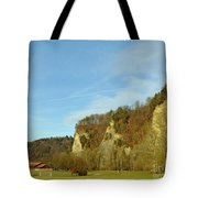 The Three Hills  Tote Bag