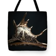 The Three Howling Wolves Tote Bag