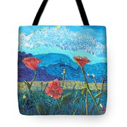 The Three Poppies Tote Bag