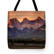 The Three Sisters Canmore Tote Bag