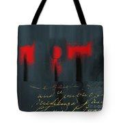 The Three Trees - J22206237a Tote Bag