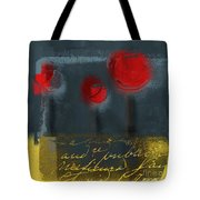 The Three Trees Tote Bag by Variance Collections