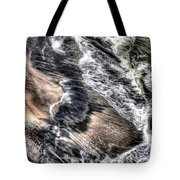 The Tide From Above Tote Bag