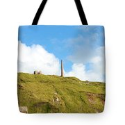 The Tin Mines Of Cornwall Tote Bag