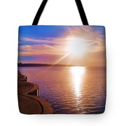 The Tip Of The Thumb Tote Bag