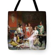 The Toilet Of A Roman Lady Tote Bag