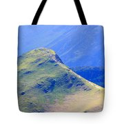 The Top Of Catbells In The Lake District Tote Bag