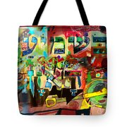 the Torah is aquired with attentive listening 11 Tote Bag
