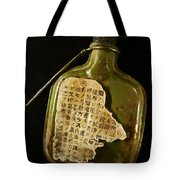 The Torn Message Tote Bag